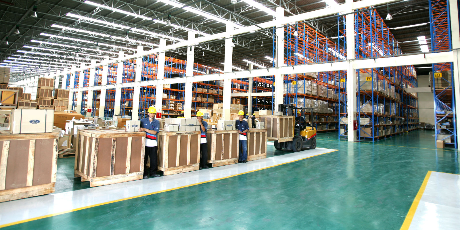 ADC Warehouse Interior