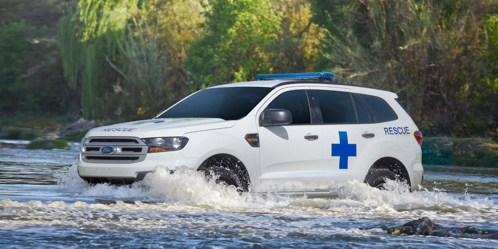 Ford Everest Emergency Recovery Vehicle