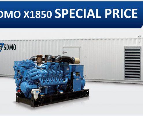 SDMO x1850 Special Price