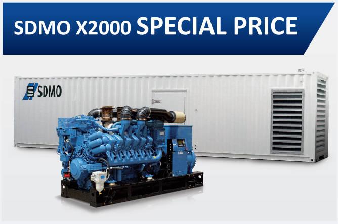 SDMO x2000 Special Price