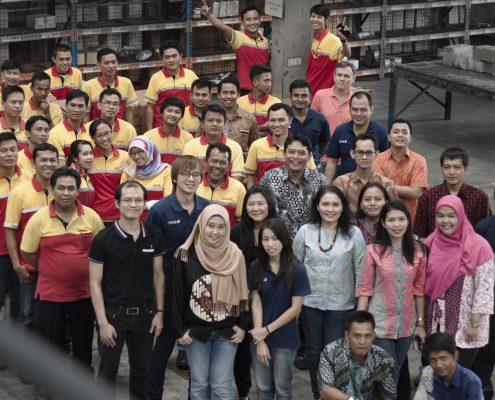 The RMA Indonesia Team
