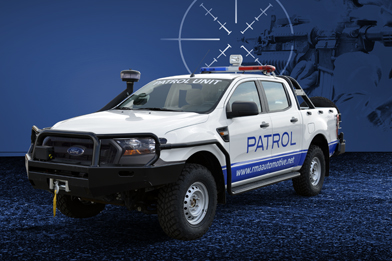 Ford Ranger Light Tactical Vehicle (LTV) - White