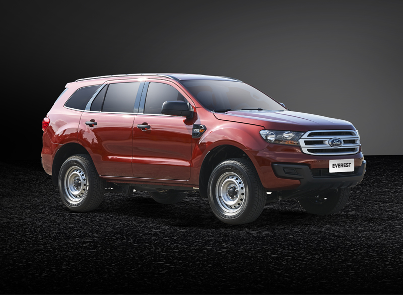 Ford Everest Cash In Transit Vehicle