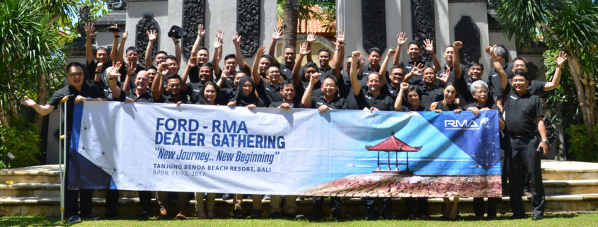 First RMA Indonesia Ford Dealer gathering