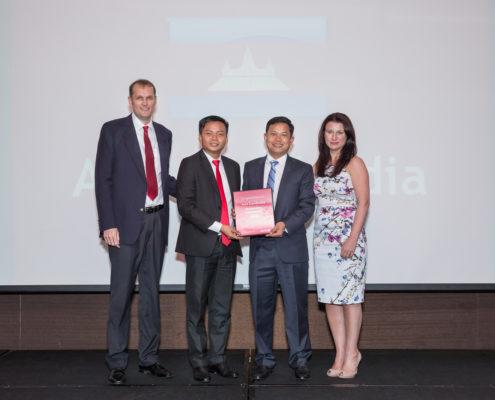Receiving Avis Outstanding Achievement Award 2016