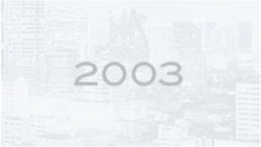 RMA Milestones in 2003