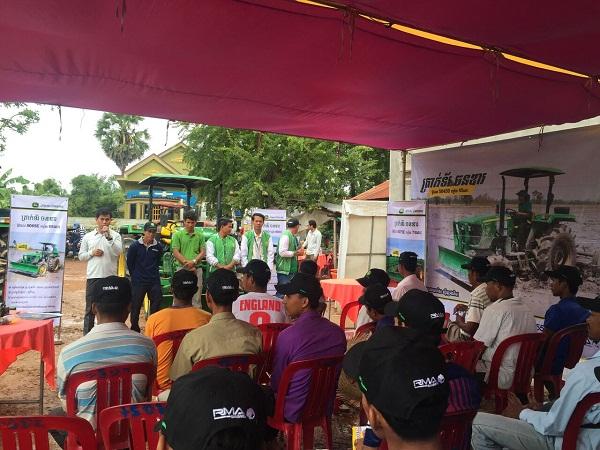 John Deere Tractors Demo Roadshow held in Siem Reap