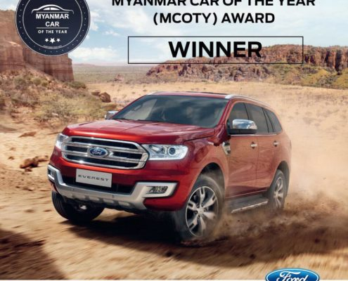 Ford Everest - Best SUV - Myanmar Car of the Year Awards