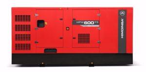 Himoinsa's newest generator, the HFW-600 T5