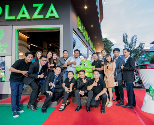 Bar B Q Plaza Cambodia opens a self-cooking restaurant