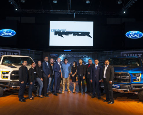 Fearless, Efficient and Smart F-150 Raptor Arrives in Laos