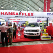 Hansa Flex, Kärcher and Himoinsa exhibited at the MEP in Yangon