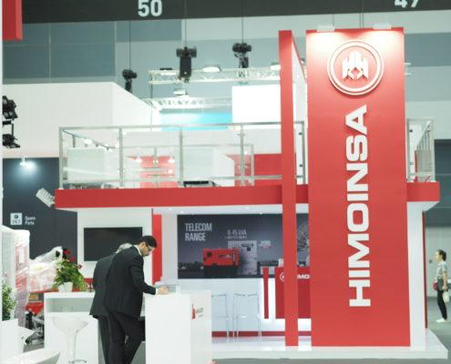Himoinsa Display at Asia Power Week