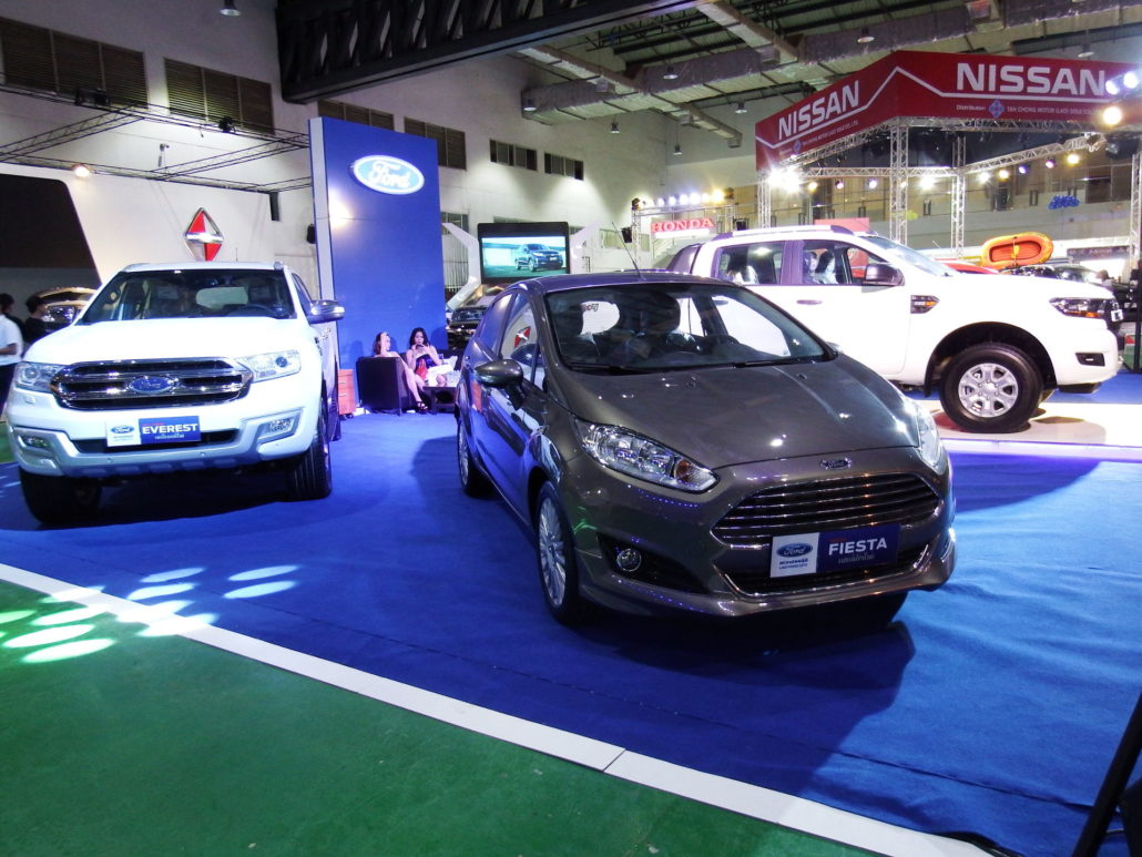 Lao Ford City Joins The Vientiane International Motor Expo