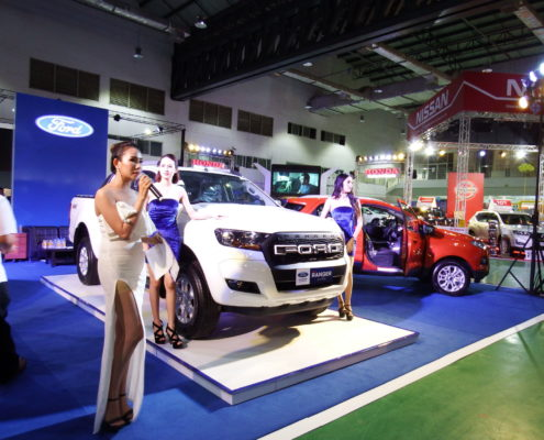 Lao Ford City at the Vientiane International Motor Expo 2017