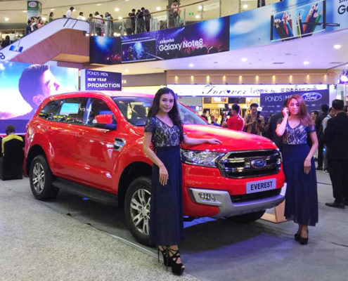 Pond's Men Launches New Year Promotion with Ford Myanmar