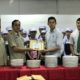 EFG Laos donated 500 The Pizza Company Plates to Paphasak Technical College's Department of Hospitality