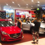 Mazda City Display Event at The Mall Bangkapi