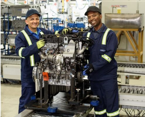 Significant Milestones for Ford Struandale Engine Plant, Expanded Production for 2018 and Beyond