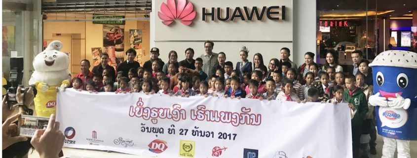 Dairy Queen Laos Sponsors Major Care Charity Event