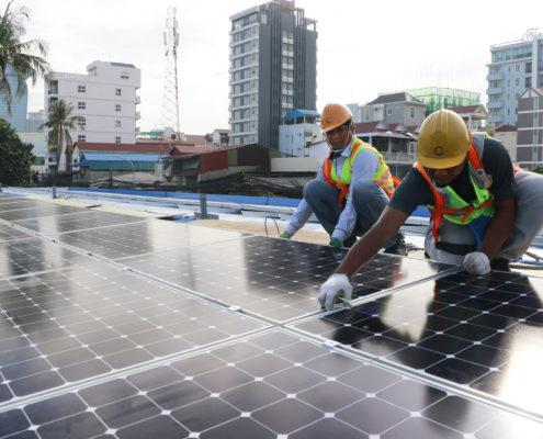 Comin Khmere Solar energy