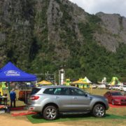 Lao Ford City Sponsored the Vang Vieng Music Festival 2017