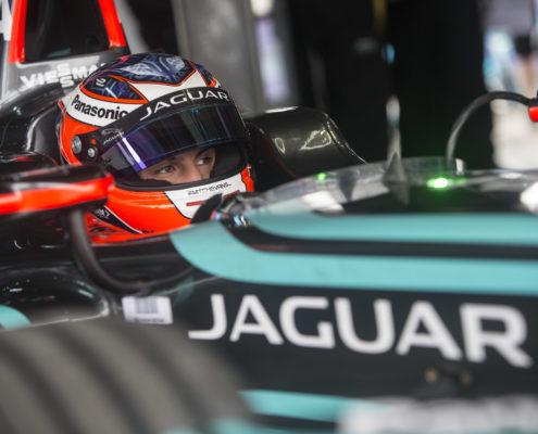 Mitch Evans focuses ahead of Santiago E-Prix