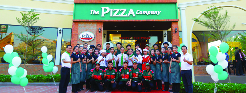 The Pizza Company Cambodia 27th outlet