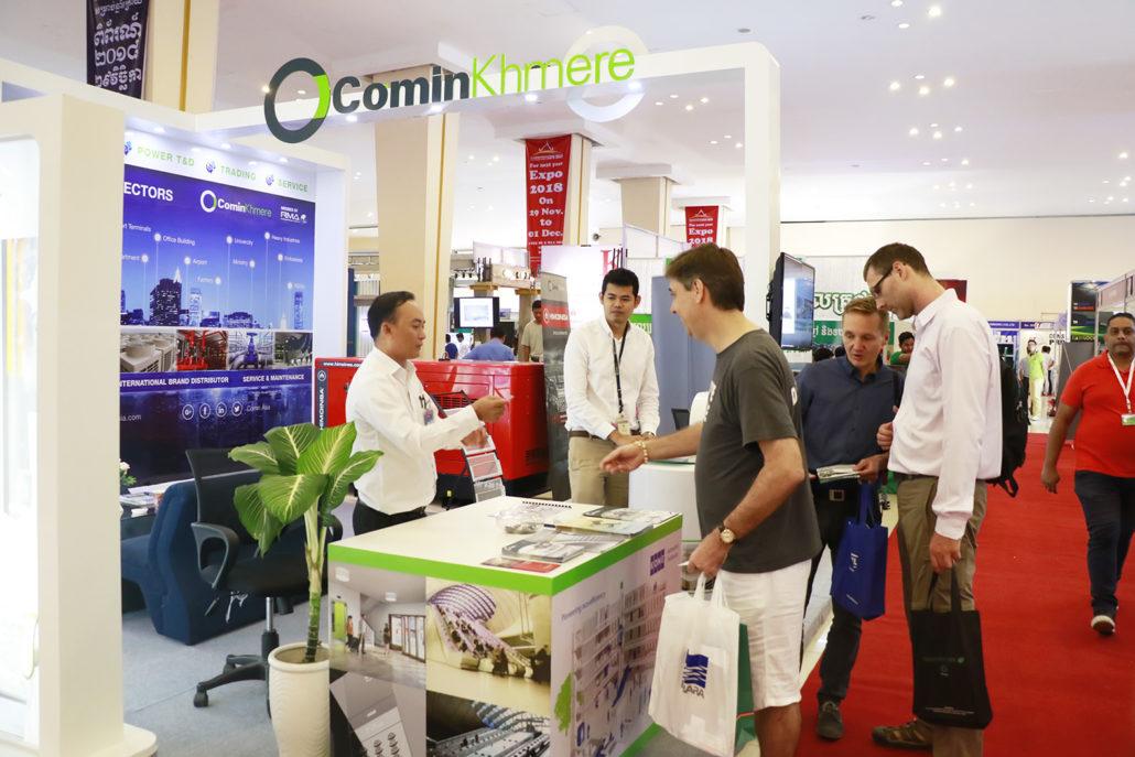 Comin Khmere Participates In 6th CCA Summit & Cambodia Construction