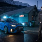 Cabbie Evald Jåstad plies his trade in a Ford Focus RS
