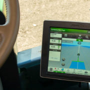 The John Deere 4640 Universal Display utilizes the John Deere Generation 4 Operating System