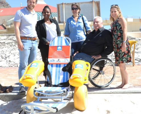 Beach Access a Reality for the Disabled