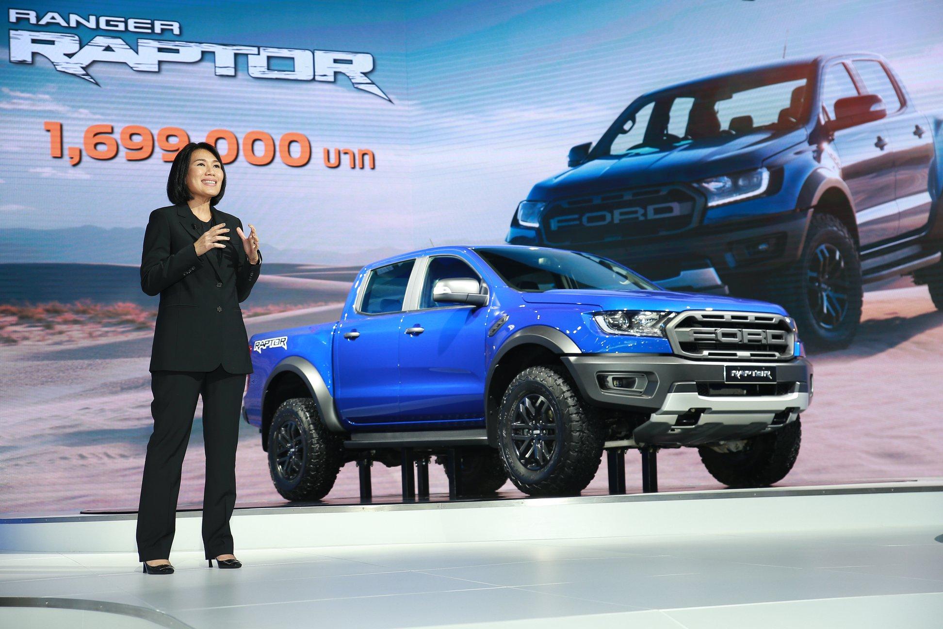 Ford Announces Pricing for Ranger Raptor at Bangkok International