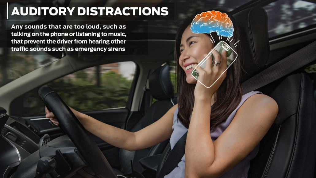 Text or Talk while Driving