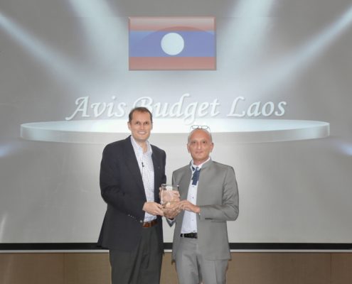 Avis Budget Laos Receives Winning Spirit 2018 Award