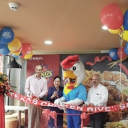 Texas Chicken Riverside Store Opens in Vientiane