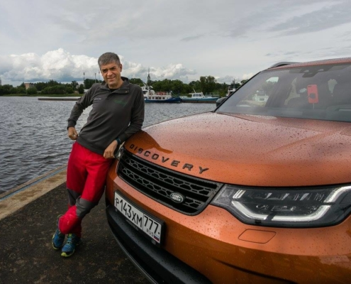Around the World in 70 days with Land Rover