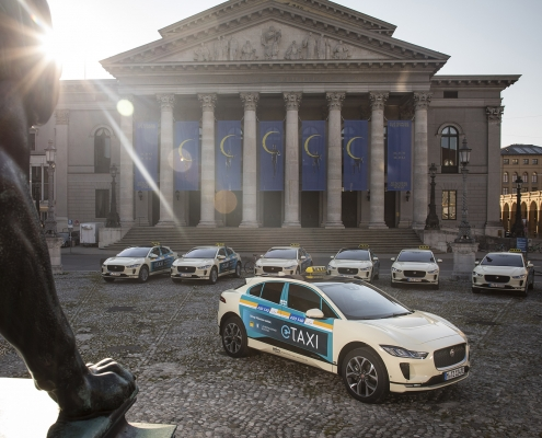 GERMANY'S FIRST ALL-ELECTRIC TAXI FLEET