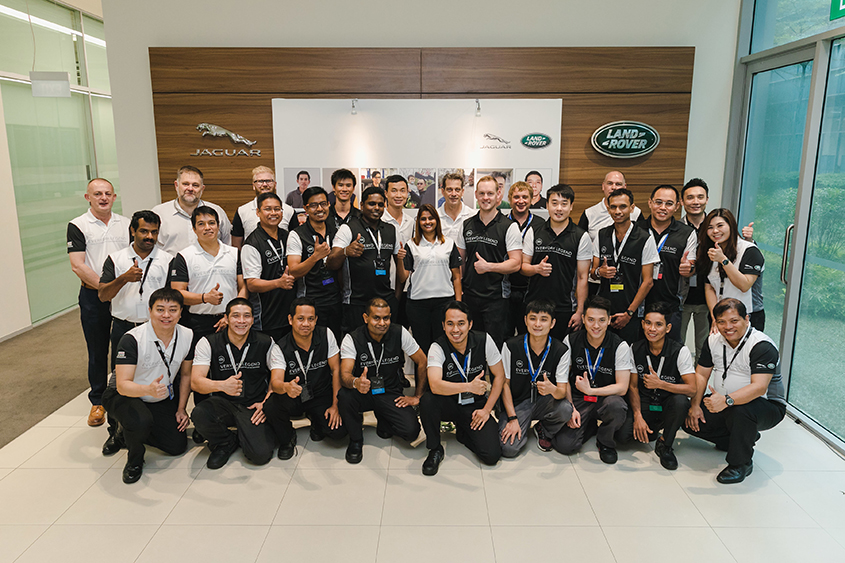 Jaguar Land Rover Technician of the Year
