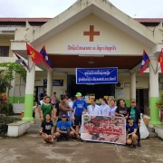 Lao Ford City Supports Flood Victims in Attapeu