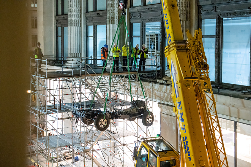 And rover classic team builds one off defender inside - Selfridges head office telephone number ...